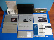 1998 Mercedes R170 SLK SLK230 Kompressor Owner Manuals Operator Books Pack K166