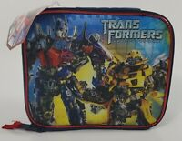 New Transformers Dark Of The Moon Soft Sided Lunch  Box Hasbro 2011 Dark Blue