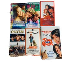 6 VHS Ever after My Girl 2 Willow Oliver Huck & Fin Annie  Like New Some Sealed