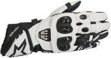 Handschuhe Leder Alpinestars 3556717 GP pro R2 12 BLK Whi-l