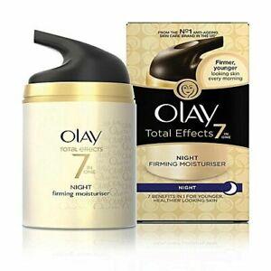 50 Gram Olay Total Effects 7-In-1 Anti Ageing Night Skin Cream