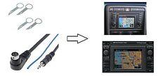 Release keys AUX Adapter JACK Plug jack 0 1/8in For Audi RNS-D VW MFD 1