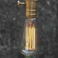 Edison Vintage antike Retro ST64 220V E27 Licht Lamp Birnen Glühlampen Home