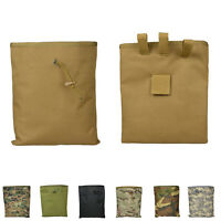 Big Airsoft Molle Tactical Hunting Magazine Mag DUMP Drop Ammo Utility Pouch BH