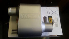 """Imco Muffler Exhaust 73543  2 1/2"""" ID Offset in / out 12"""" overall"""