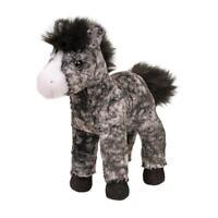 ADARA the Plush DAPPLE GRAY HORSE Stuffed Animal - Douglas Cuddle Toys - #4535