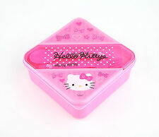Sanrio Hello Kitty Pink Bow Lunch Box Container