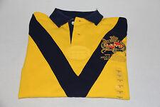 Polo Ralph Lauren Chevron Country Riders Jockey Club Yellow- size Small