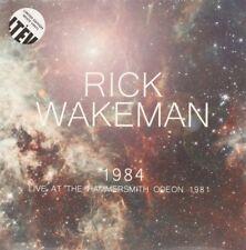 RICK WAKEMAN 1984 NEW VINYL RECORD LIVE HAMMERSMITH ODEON 1981 LTD WHITE VINYL