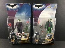 Batman The Dark Knight Joker Figure LOT Punch Packing & Destructo Case Animated