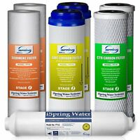 iSpring 7PK-GAC F7-GAC 1-Year Filter Replacement Supply Set For 5-Stage Reverse