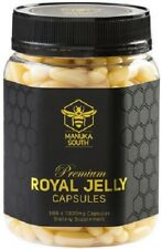 Manuka South NEW ZEALAND PREMIUM Royal Jelly 1000mg - 365 Caps FREE SHIPPING