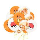 "12pcs Pokemon Pikachu 12"" Latex Birthday Party Balloons Pokemon Decoration Decor"