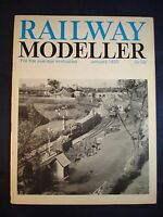 1 - Railway modeller - January 1970 - Contents page shown in photos