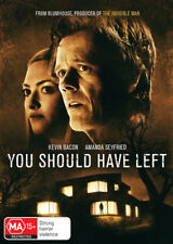 You Should Have Left DVD Kevin Bacon Region 4