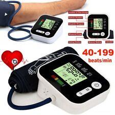 Automatic Heart Blood Pressure Monitor Upper Arm Digital BP Machine Large Cuff☃