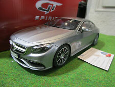 "Mercedes AMG S63 Coupe Argent GT Spirit 1 18 Gt063 ""ottomobile"""