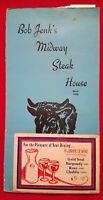 Bob Jenk's Midway Steak House menu - Since 1946, 269 Washington St, Dedham, Mass