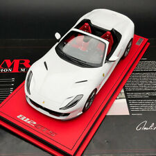 MR Collection 1/18 Ferrari 812 GTS Spyder car model Bianco Cervino White FE030C