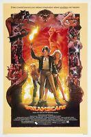 "Dreamscape movie poster - Dennis Quaid, Kate Capshaw  - 11"" x 17"""