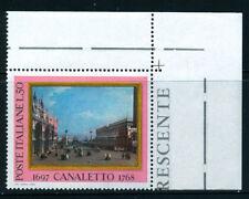 REP. IT. 1968 IL CANALETTO BORDO DI FOGLIO (N) NUOVISSIMO