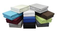 2er-Set Topper Jersey Spannbettlaken 180x200 - 200x200 cm - viele Farben