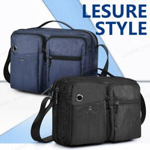 OSOCE Sling Bag Backpack Waterproof Shoulder Chest Crossbody Bag Black Blue