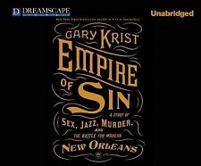 The Empire of Sin by Gary Krist (2014, MP3 CD, Unabridged)