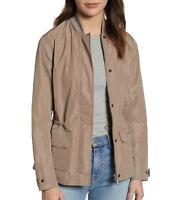 Barbour Dockray Jacket Übergangs-Jacke funktionelle Frühlings-Jacke Beige/Grau