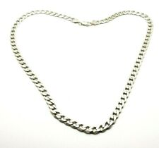 """925 Sterling Silver Solid Miami Cuban 7.7 mm Necklace Chain 24"""""""