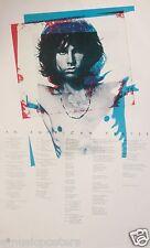 "DOORS ""AN AMERICAN PRAYER"" U.K. COMMERCIAL POSTER - Shirtless Jim & Song Lyrics"