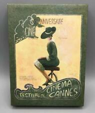 "Cinema Cannes Art Print Canvas Wall Hanging Decor 6""x8"""