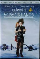 EDWARD SCISSORHANDS - JOHNNY DEPP, WINONA RYDER - WIDESCREEN DVD - STILL SEALED