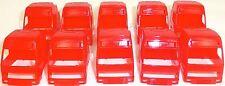 10 x Camión Cabina Rojo Carga Bricolaje Deco 1:87 H0 å