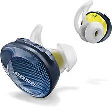 Bose SoundSport Wireless Earphone Midnight Blue/Yellow Citron JAPAN F/S USED