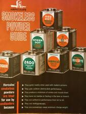 VINTAGE 1966 HERCULES SMOKELESS POWDER RELOADING GUIDE