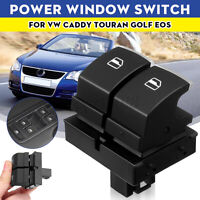 LHD Driver Side Electric Power Window Switch For VW Caddy Touran Golf EOS B6