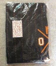 RARE Black 01 BASEBALL JERSEY Print XXL Skate T-Shirt from MANIK SKATEBOARDS