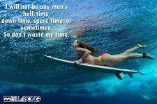 "Billabong Surf Surf FASHION GIRL preventivi poster stampa 24"" x 16"""