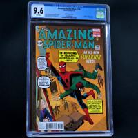 AMAZING SPIDER-MAN #700 🔥 CGC 9.6 🔥 Last Issue! Ditko Variant Cover! 2013