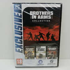 BROTHERS IN ARMS COLLECTION PC DVD-ROM GAME EUROPEAN SEALED BRAND NEW
