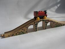 WOODEN  BRIDGE  for Wooden Train Track Set ( Brio Thomas ) NEW BOXED c