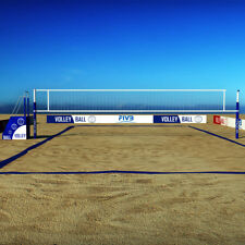 Volleyball Boundary, Web 8-meter. 2-Inch Court Line. Blue