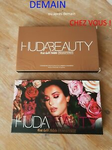 Palette fards à paupières Huda Beauty Rose Gold Remastered neuve envoi express