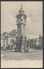 Devon Postcard - Miles Clock Tower, Exeter    RS5517