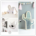 Kids Wall Hanging Mirror Creative Wall Art Home Decor Swan Cactus Butterfly