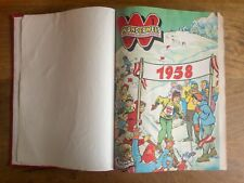 Wunderwelt, Die bunte Jugendillustrierte, Jg. 1958, gebunden