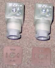 2x Hirschmann GDML 2011 LED 24 HH 3WG Ventilstecker Hydraulik- Magnetventil