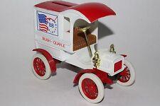 ERTL DIE CAST METAL BANK 1905 Ford BUSH QUAYLE 1988 Campaign Bank