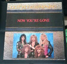 """Whitesnake - 12"""" vinyl - Now you're gone"""